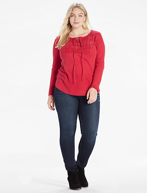 Lucky Lace Up Bib Thermal