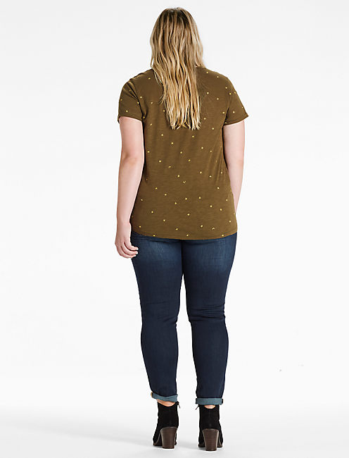 STARS AND MOONS TEE,