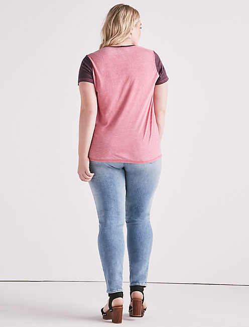 TRIUMPH COLORBLOCK TEE,