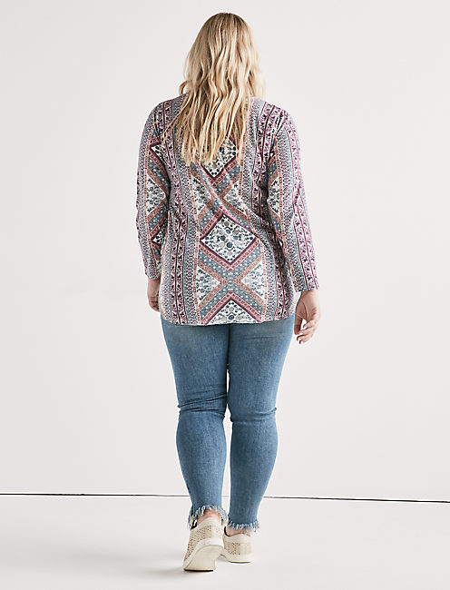 LUCKY TAPESTRY TEE,
