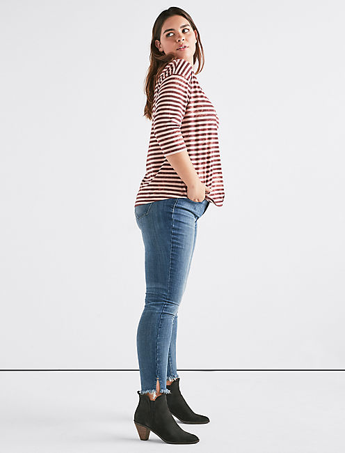 Lucky Stripes 3/4 Sleeve Tee