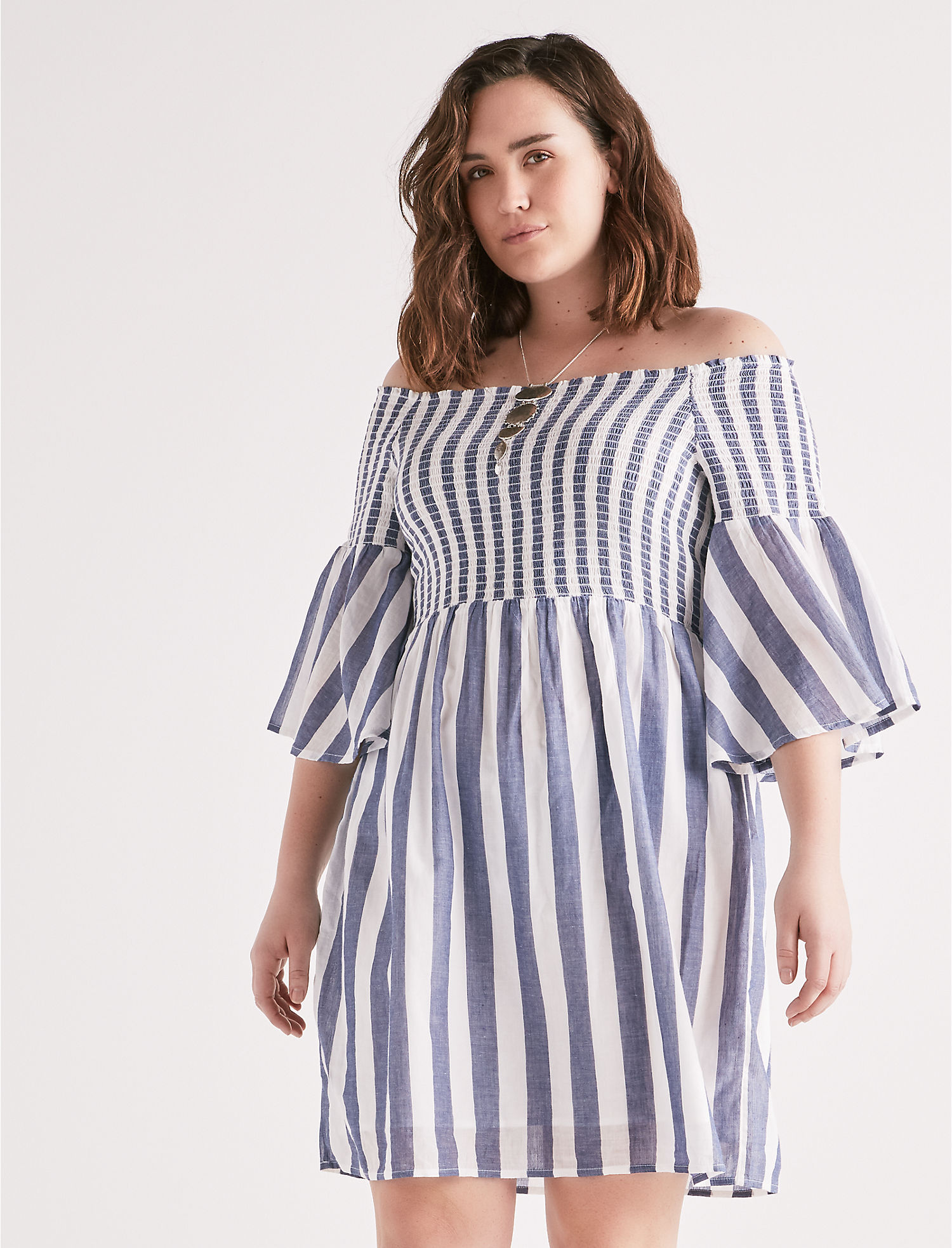 Stripe Smocked Dress | Tuggl
