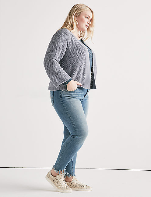 Lucky Stitch Cardigan