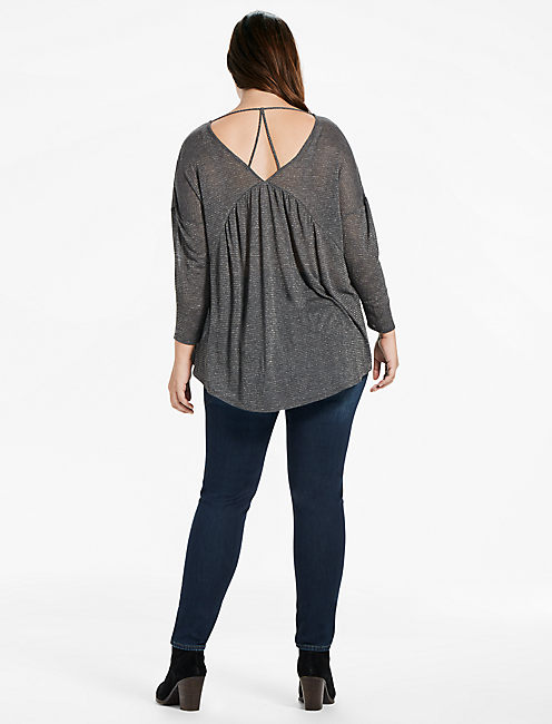 METALLIC SWING TOP,