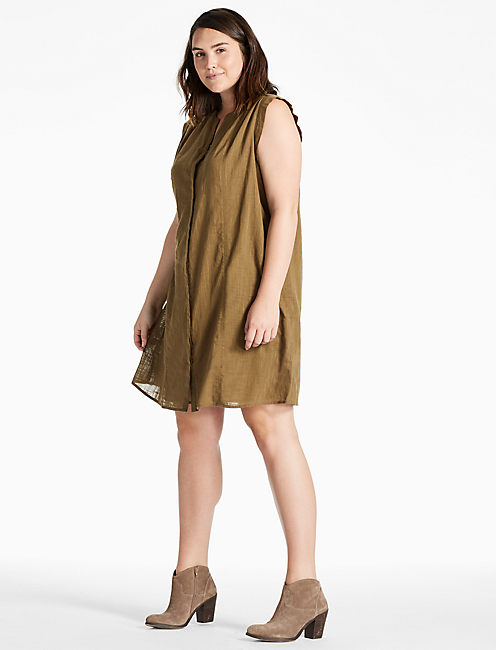 POPOVER SOLID DRESS,