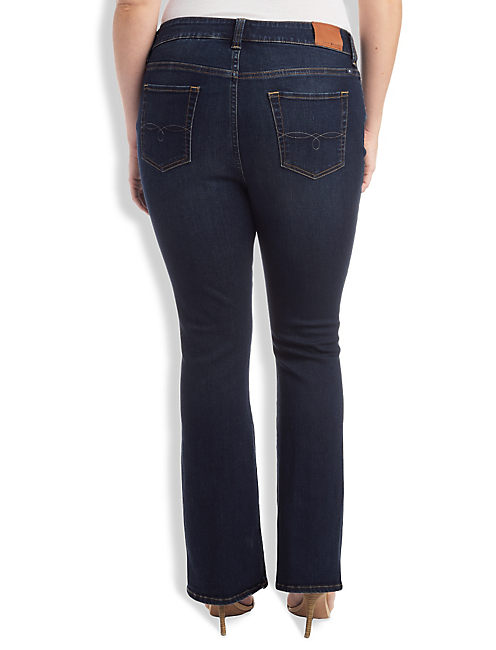 Lucky Plus Size Emma Petite Bootcut Jean In Grissom