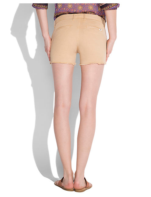 STUDDED CUT OFF CHINO, #2465 NOMAD