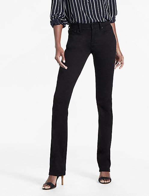 EASY RIDER RELAXED BOOTCUT JEAN IN BLACK AMBER, BLACK AMBER