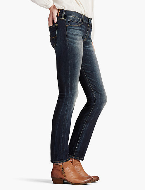 Lucky Sofia Mid Rise Skinny Jean In Irvine