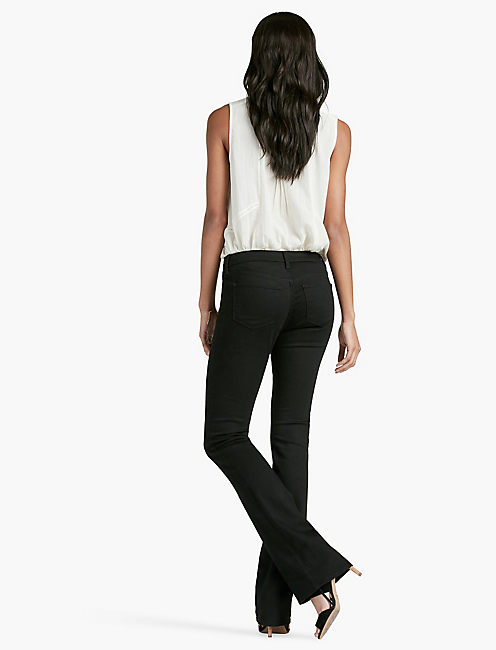 HAYDEN HIGH RISE SCULPTING BOOTCUT JEAN IN BLACK AMBER,