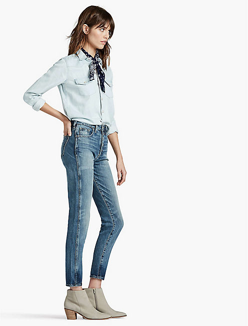 Lucky The High Rise Tomboy Jean