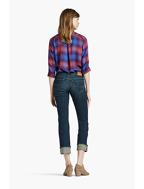 EASY RIDER CROP JEAN, ABYSS