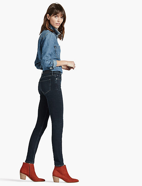 BRIDGETTE HIGH RISE SKINNY JEAN IN RESTLESS,