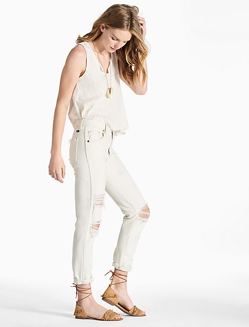 HIGH RISE TOMBOY JEAN, CHAMISE