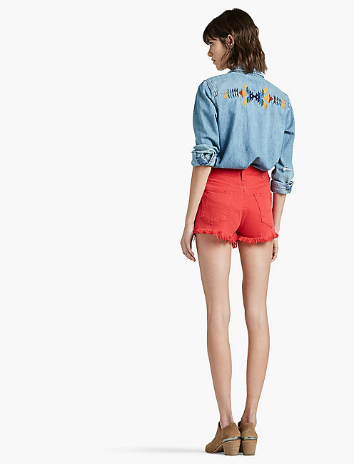 THE HIGH RISE SHORTIE SHORT,