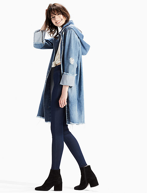 DENIM PARKA,