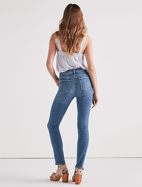 Lucky Hayden High Rise Skinny Jean In Sweeny