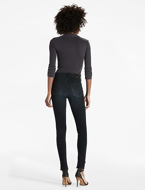 BRIDGETTE HIGH RISE STEP HEM SKINNY JEAN, UNITE