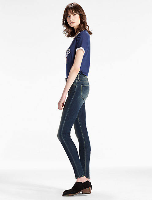 Lucky Brooke Mid Rise Legging Jean In Seven Points
