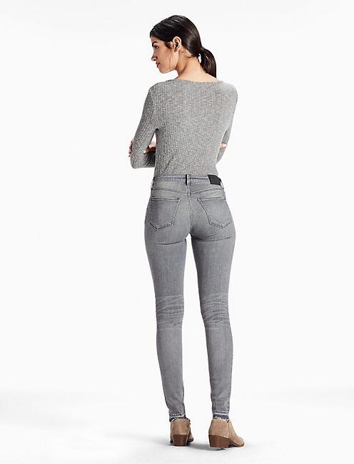 SASHA SUPER SKINNY LEGGING JEAN WITH RELEASED HEM,