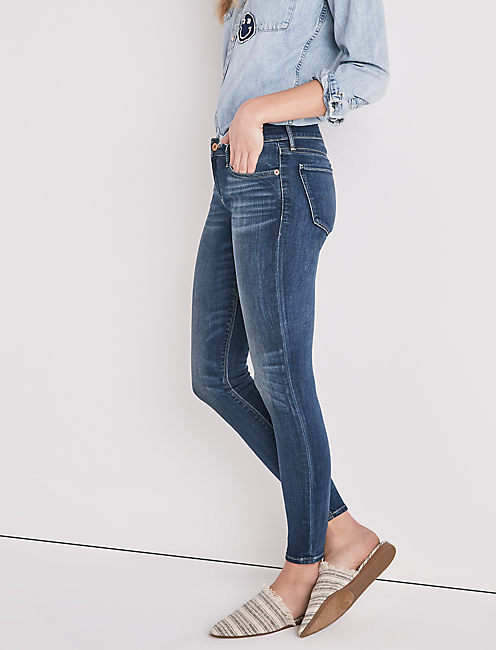 STELLA LOW RISE SKINNY JEAN IN SANDY OAKS,