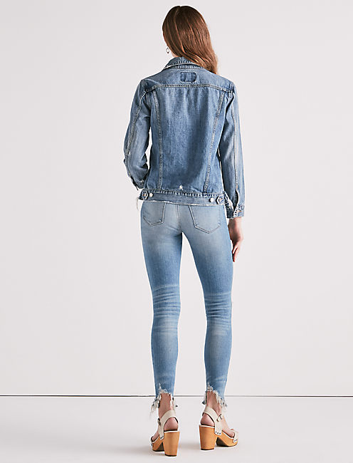 RIP AND REPAIR TOMBOY DENIM JACKET, HANDCRAFTED