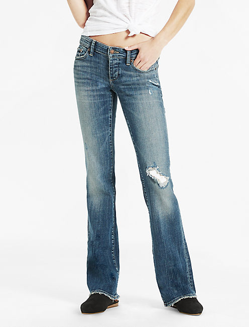 LIL MAGGIE LOW RISE JEAN IN JAYTON, JAYTON DESTRUCTION