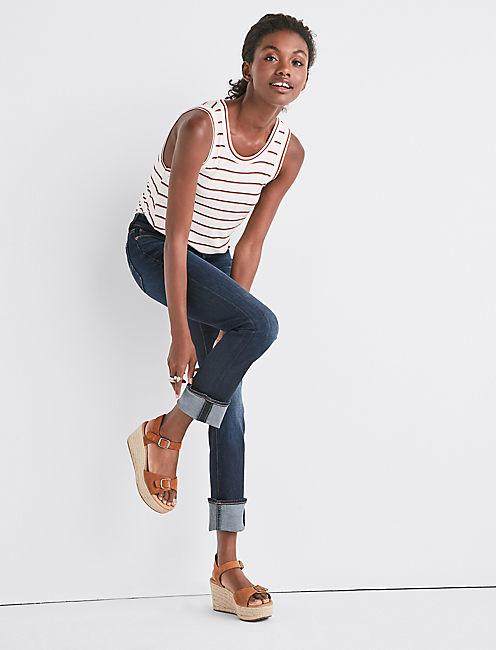 SWEET STRAIGHT LEG JEAN IN TWILIGHT BLUE,