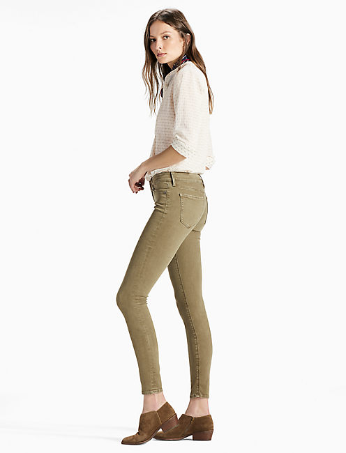 Lucky Ava Mid Rise Skinny Jean In Mojave Valley