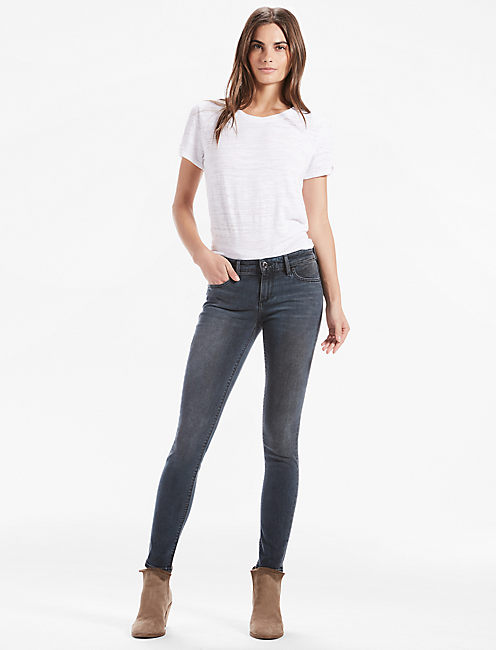 Lucky Stella Low Rise Skinny Jean In Gunter