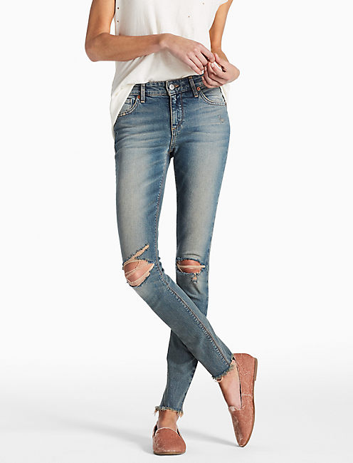 AVA MID RISE SKINNY JEAN IN VALLEY MILLS, VALLEY MILLS