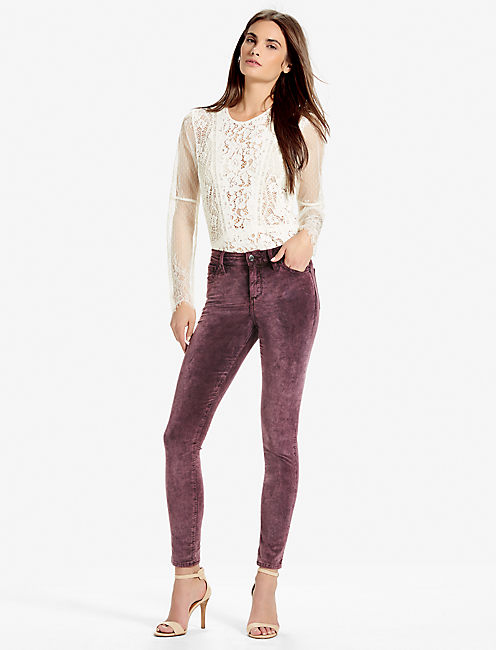 Lucky Brooke Legging Jean In Velvet Fanado