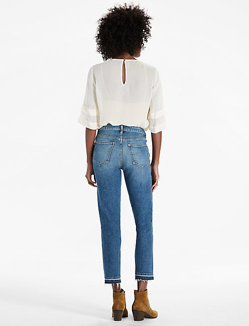 HIGH RISE TOMBOY JEAN IN WESTERN HERITAGE,