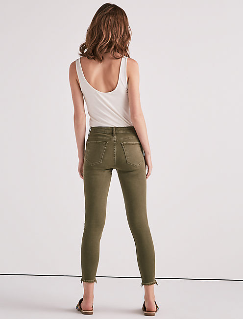AVA MID RISE SUPER SKINNY JEAN IN OPAL,