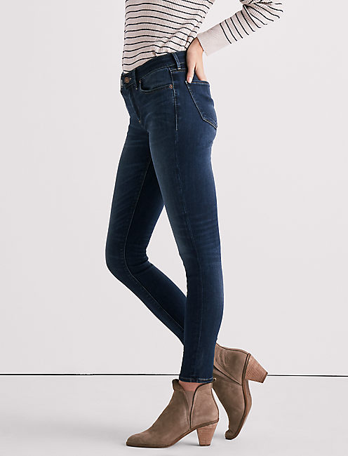 Lucky Ava Mid Rise Legging Jean In Fayette Springs