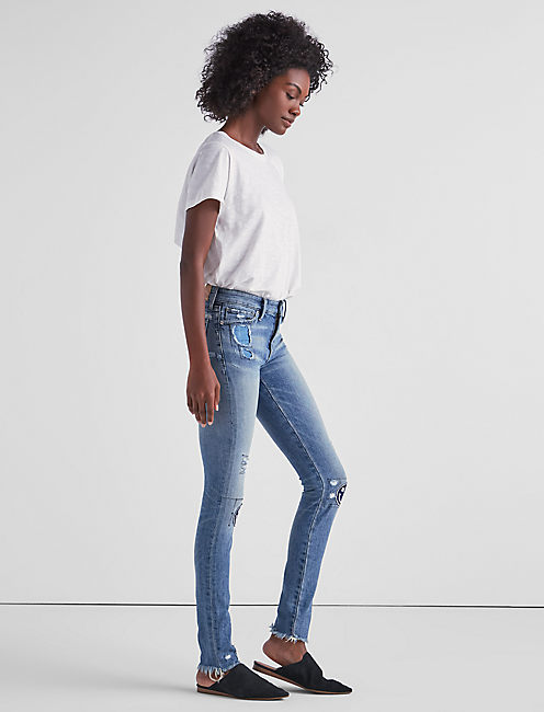 Lucky Ava Mid Rise Skinny Jean In Avon Lake