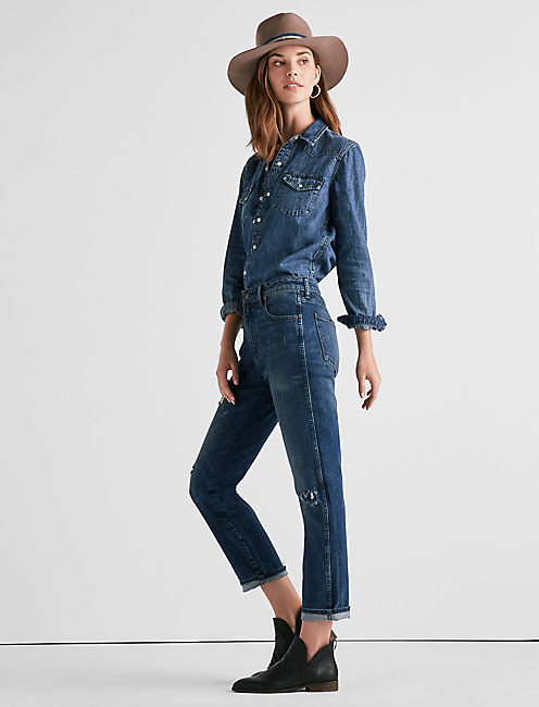 HIGH RISE TOMBOY JEAN IN SOLANO,