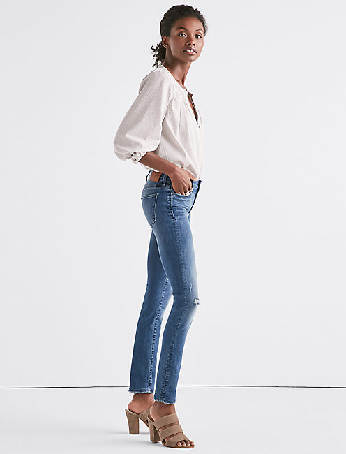 Lucky Hayden High Rise Sculpting Skinny Jean In La Paz Valley