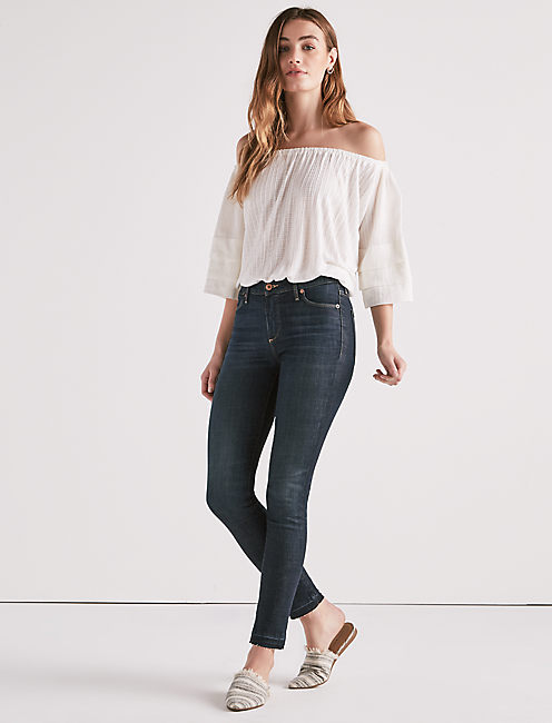 HAYDEN HIGH RISE SCULPTING SKINNY JEAN IN MOSQUERO,