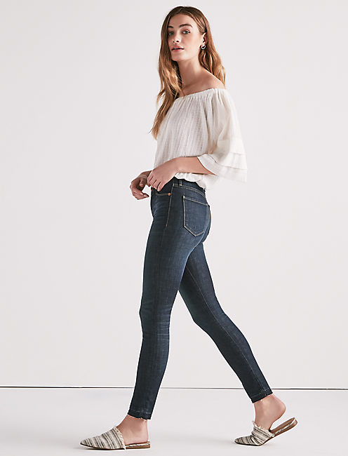 Lucky Hayden High Rise Sculpting Skinny Jean In Mosquero