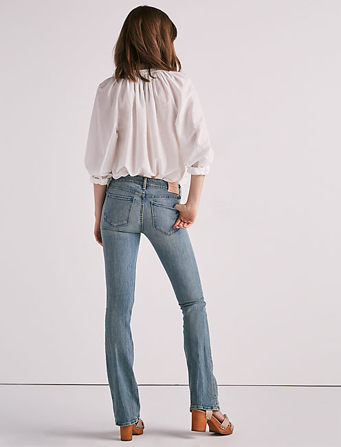 STELLA LOW RISE BOOTCUT JEAN IN WATERSTOP,