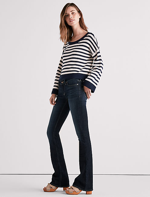 Lucky Stella Low Rise Bootcut Jean In Corral Canyon