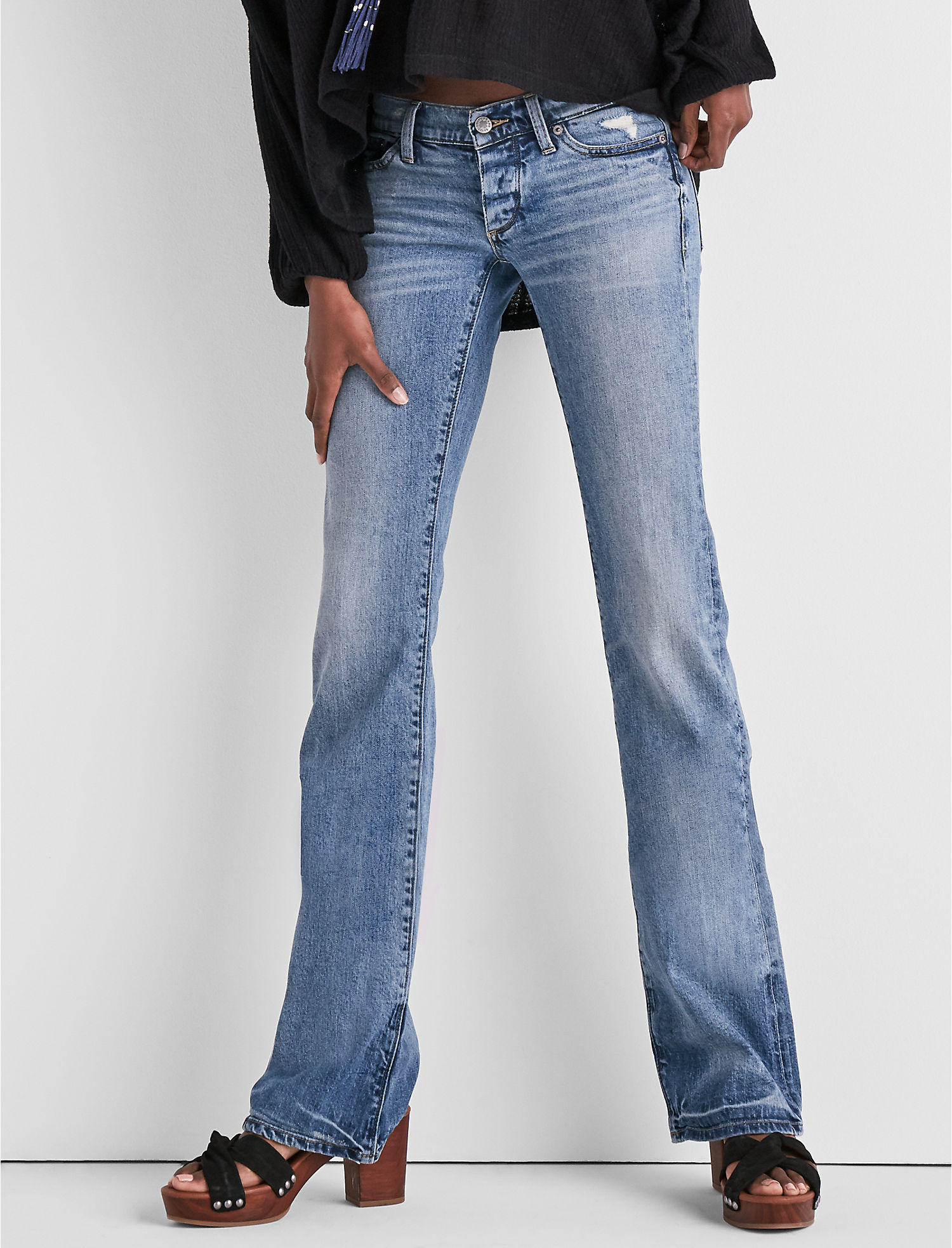 b0cb0552e9f Lil Maggie Low Rise Jean In Campo Walk at Lucky Brand Jeans in Studio City