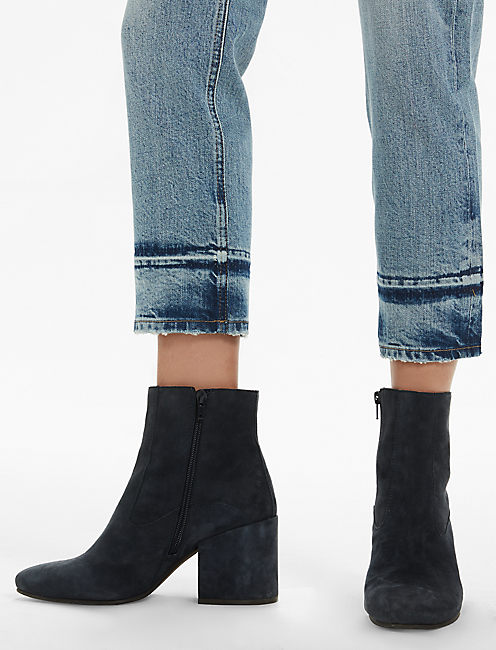 BRIDGETTE HIGH RISE CROPPED BOOT JEAN IN HUNT,