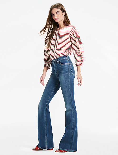 Lucky Bridgette High Rise Flare Jean