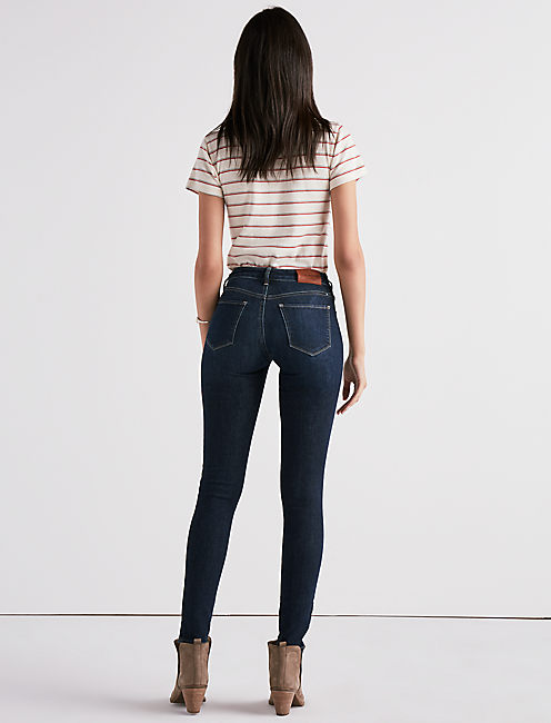 SASHA SUPER SKINNY JEAN IN INDIGO LANE,