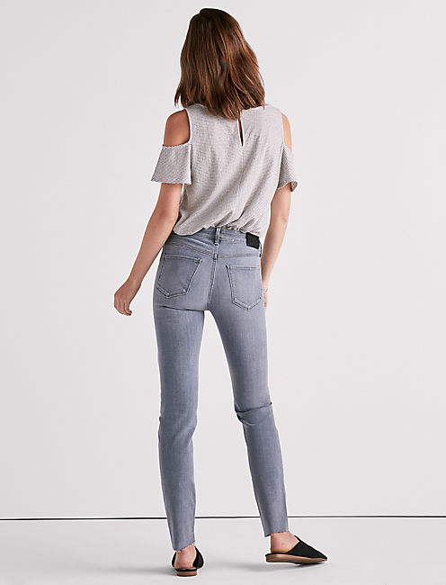 HAYDEN HIGH RISE SKINNY JEAN IN JUNE GLOOM, JUNE GLOOM