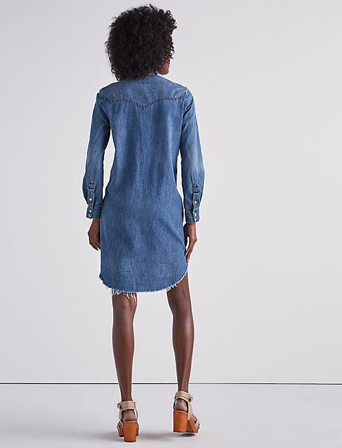 WESTERN SHIRT DRESS IN BALLARD,