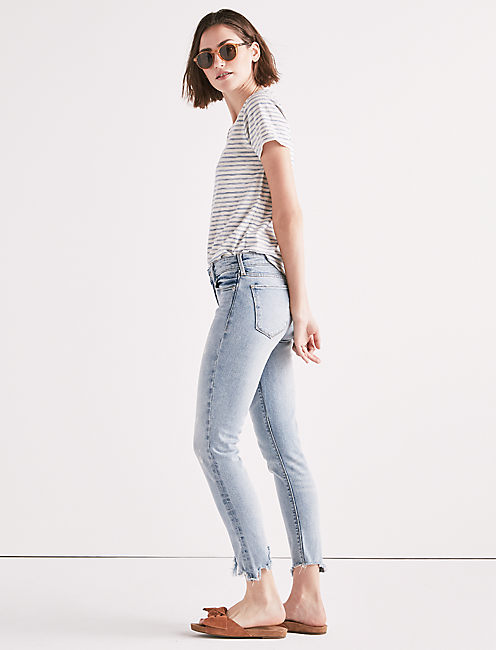 Lucky Ava Mid Rise Crop Jean