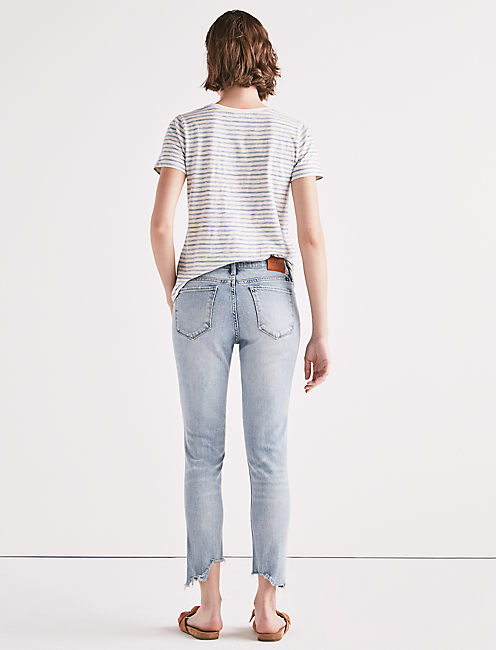 AVA MID RISE CROP JEAN,